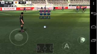 Winning Eleven 2012 Gameplay Android HD