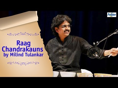 Raag Chandrakauns - Milind Tulankar Performing Jaltarang | Indian Classical Music