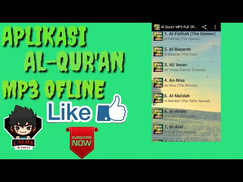Aplikasi Al-Qur'an Mp3 full ofline