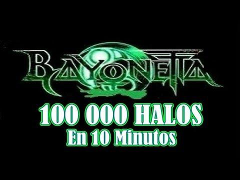 Bayoneta (Truco) 100.000 HALOS en 10 Minutos
