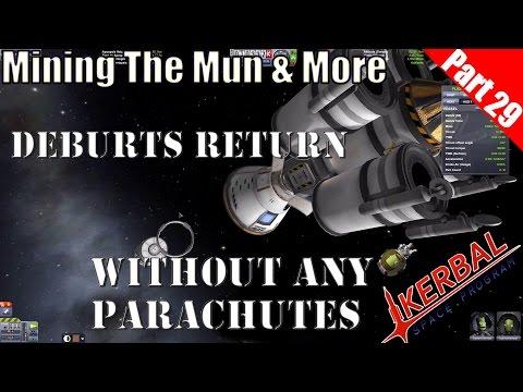 Kerbal Space Program - Mining the Mun & more Part 29