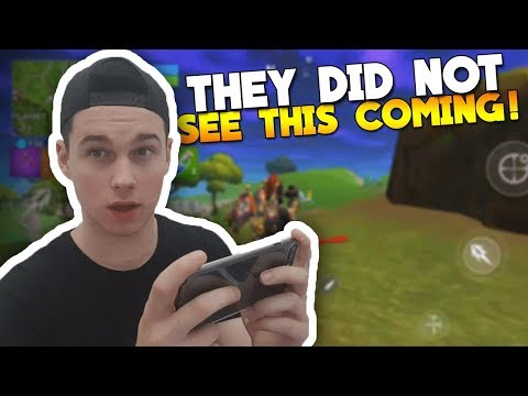 My First Fortnite Mobile ANDROID Gameplay!