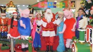 Baixar Chegada do Papai Noel da Encantados Produções