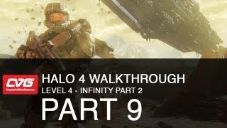 Halo 4 Level 4 - Infinity part 2 (let's play)