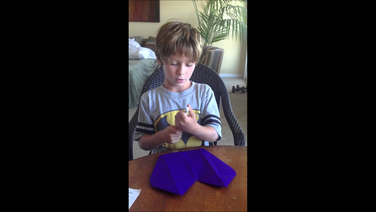 How To Fold An Easy Origami Dog Face - Folding Instructions ... | 720x1280