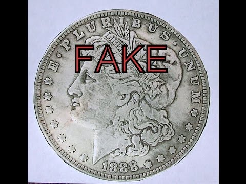 BUSTED!!! EBAY FAKE SILVER DOLLAR SELLERS!!!