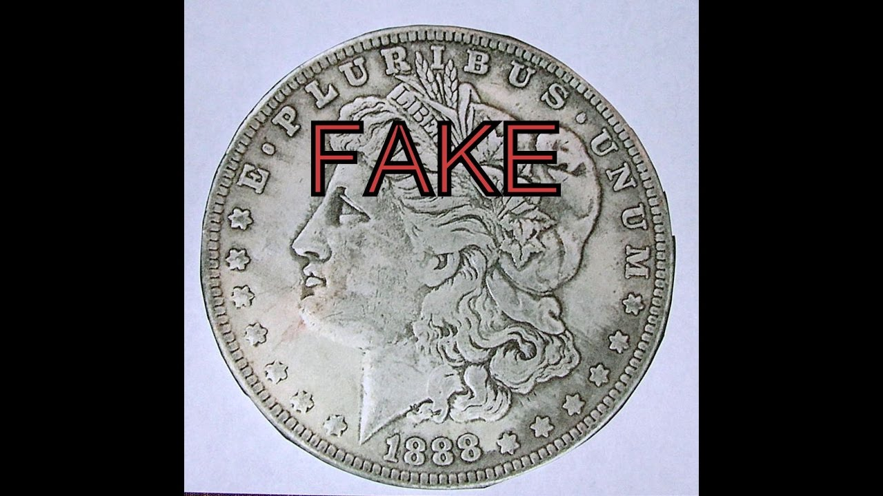 Busted Ebay Fake Silver Dollar Sellers Youtube