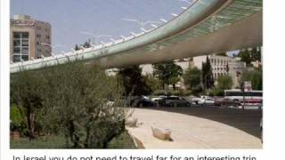 Learn Hebrew and Enjoy the View from the Jerusalem Chords Bridge