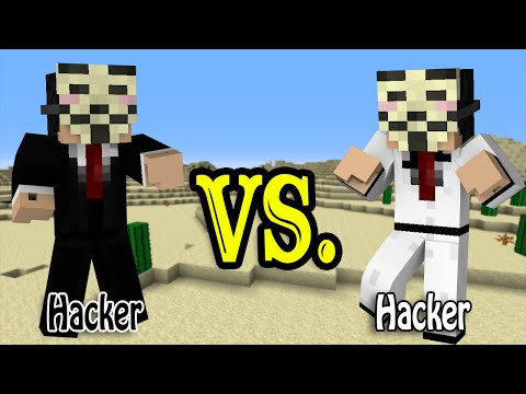 Hacker vs. Hacker - Minecraft