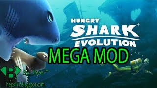Hungry shark evolution v4.8.0 | MEGA MOD - Android