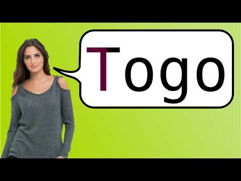 How to say 'Togo' in French?