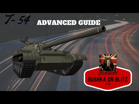 T54 The Advanced Tactics Guide World of Tanks Blitz - YouTube