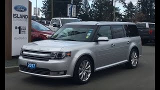 2017 Ford Flex Limited W/ Leather, NAV, AWD Review| Island Ford