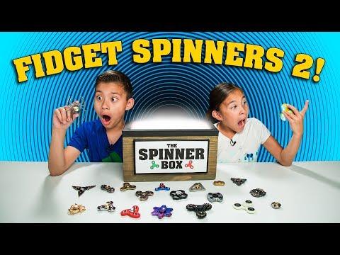 WORLD'S MOST AMAZING FIDGET SPINNER! Spinner Surprise Box Returns!