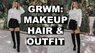 get-ready-with-me-fall-makeup-hair-outfit-2018