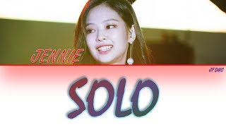 Jennie  Blackpink  - 'solo' Lyrics  Eng/rom/han
