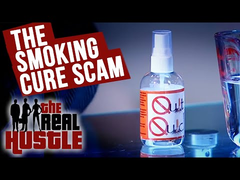 The Smoking Cure Scam - The Real Hustle