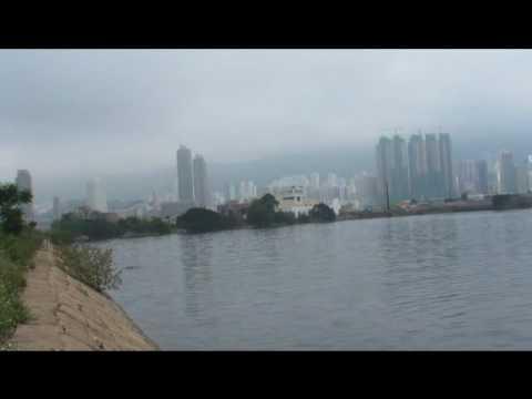 RC Waterplane crash into Kowloon Bay