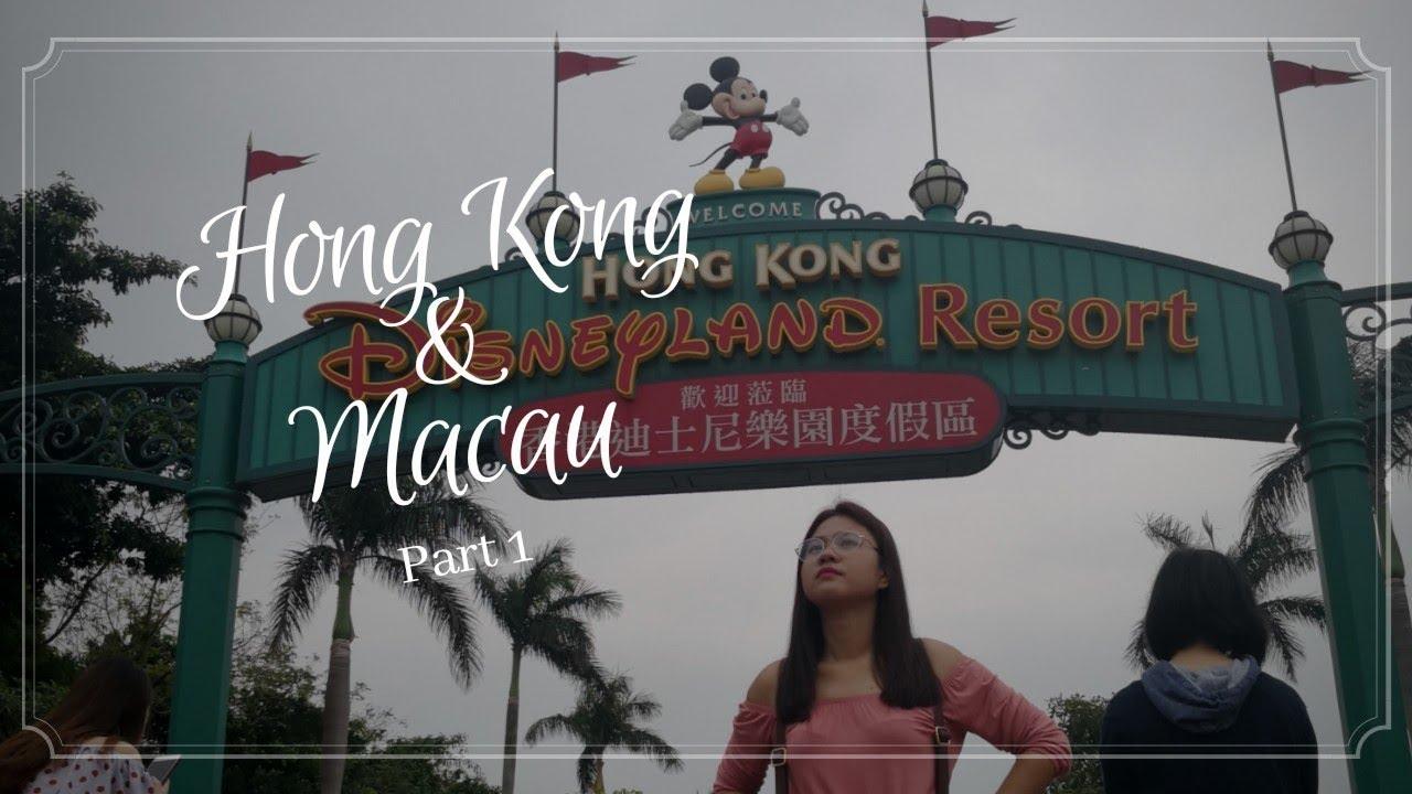 Hong Kong Macau Part 1 Arrival And Disneyland Vlog Youtube Voucher Hongkong