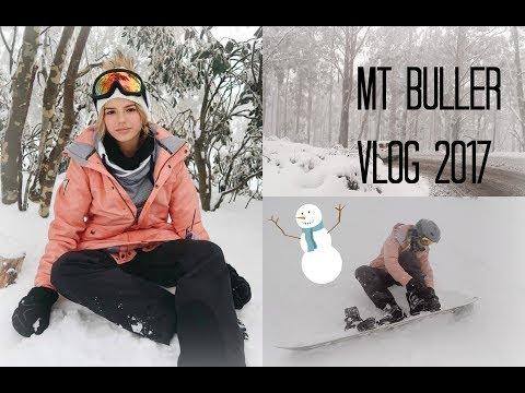 MT BULLER 2017 VLOG // TALIA PAPANTONIOU