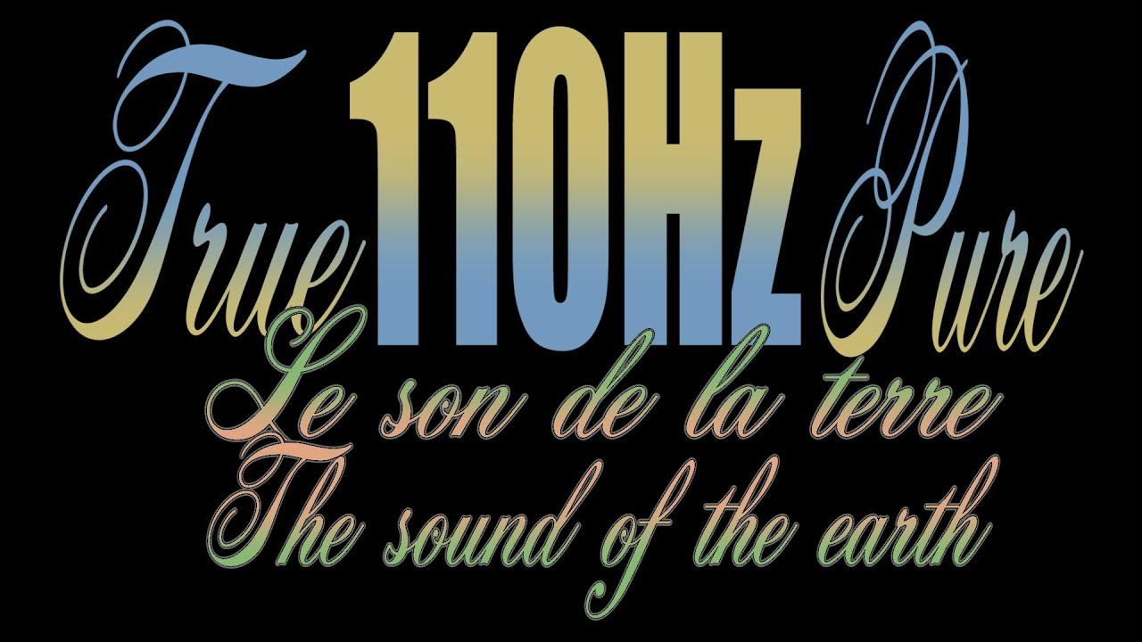 110Hz Frequency True110Hz Pure Frequence Relaxation 70mi.