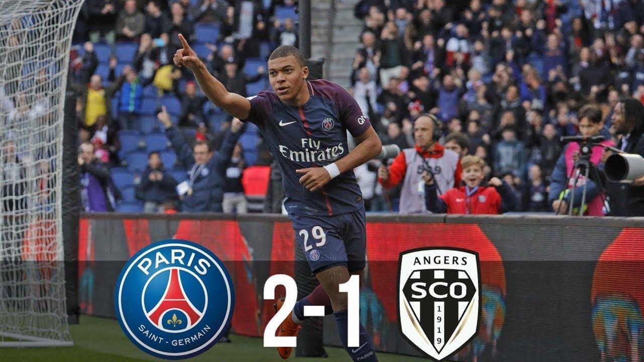 PSG vs Angers 2-1 Résumé et Tous les Buts (Ligue 1) HD ...