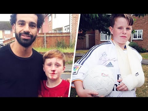3 Football Stars Who Accidentally Injured Children | Oh My Goal