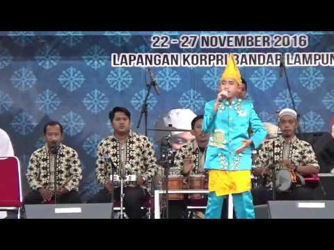 Finalis Anak anak Putra 19 dari Sulteng pada Festival Bintang Vokalis Seni Qasidah Nasional 2016 di
