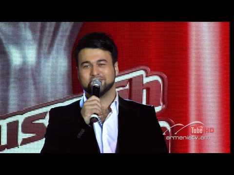 Mart Babayan,Твои следы By Arno Babajanyan - The Voice Of Armenia - Blind Auditions - Season 1