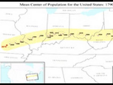 What is the Center of Population of the United States?