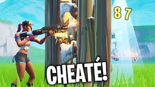 THE NEW BUG CHEATED FOR KILL EASILY! 🔥 THE BEST OF FORTNITE#185