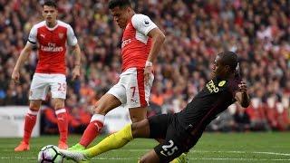 Арсенал - Манчестер Сити 2-2  Голы и основные моменты 02/04/2017
