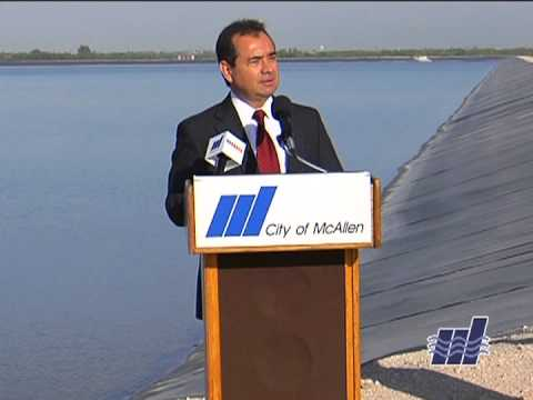 McAllen South Water Reservoir Officially Opens
