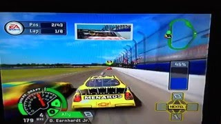 NASCAR 07 Crash Compilation 1