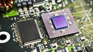 как работает процессор CPU микрочип, как делают процессоры, из чего делают микропроцессоры