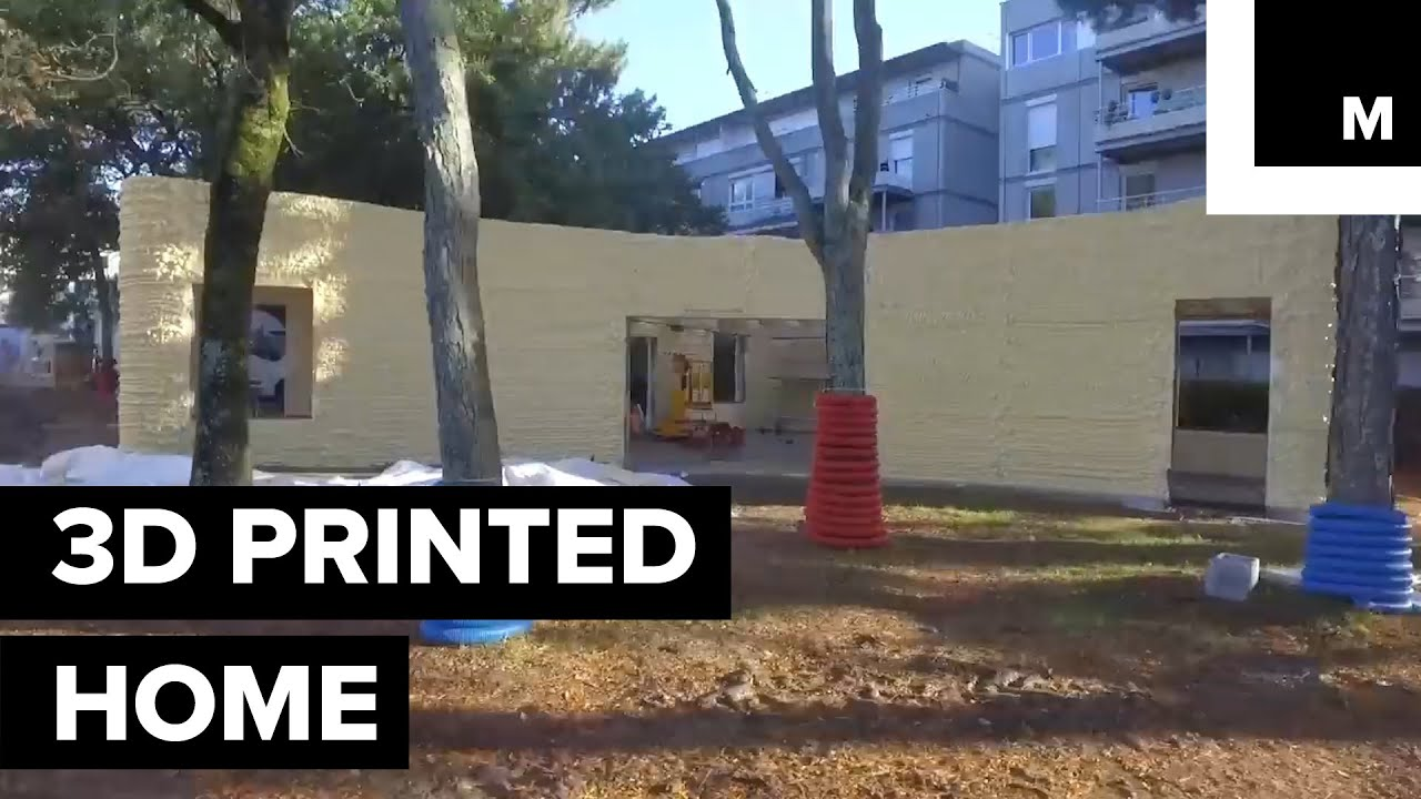 This Is The First 3D Printed Home To Actually Host A Family