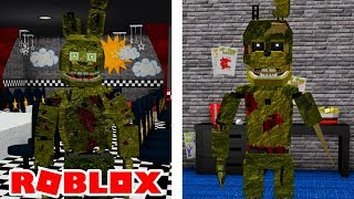 Becoming Scraptrap and Springtrap in Roblox FNAFVerse