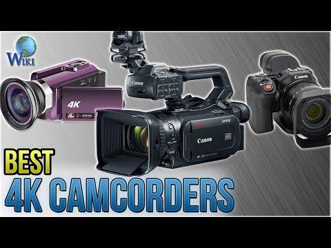 10 Best 4k Camcorders 2018