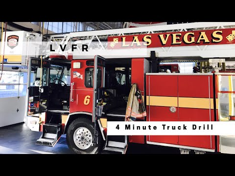 Las Vegas Fire & Rescue 4 Minute Truck Drill (unofficial)