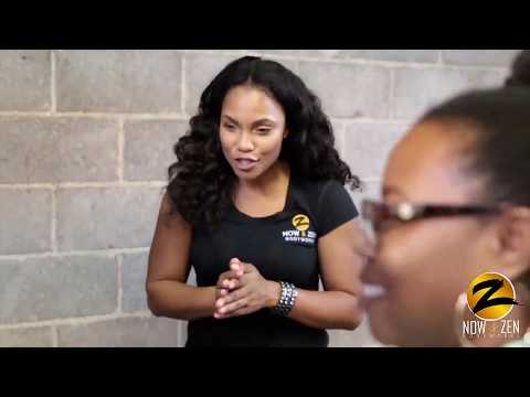 Now and Zen Bodyworks $1 minute Chair Massages in Dallas (Yikstyles Fashion show)