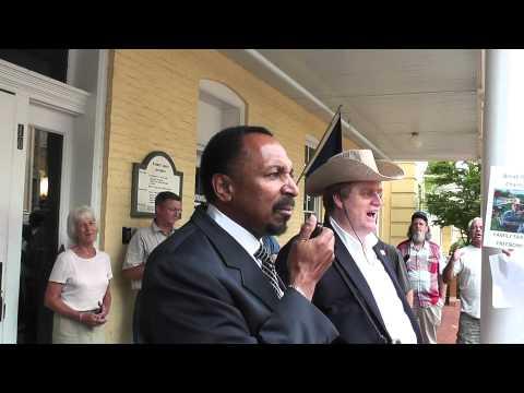 E.W. Jackson At Warrenton VA 02Aug12 1 Of 2