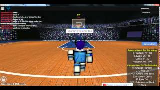 Roblox How to shoot a 3 pointer in Realistic Basketball 4 (RB4)