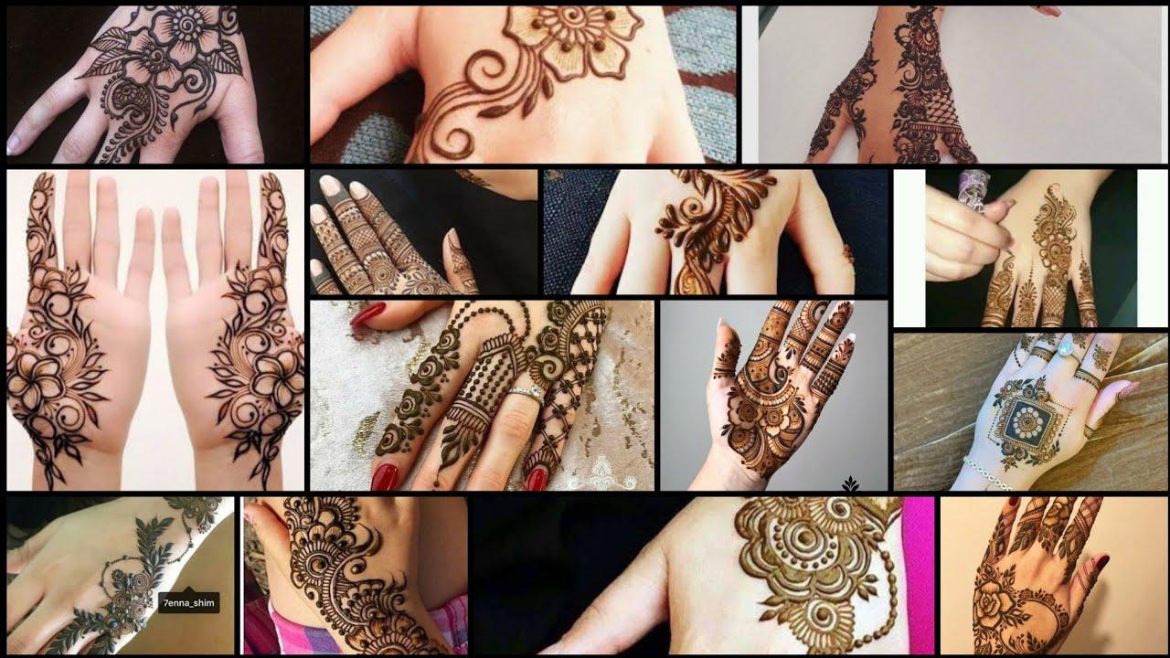 Beautiful mehndi designs || simple mehndi designs || latest collection of 2021 || #RM_Fashion