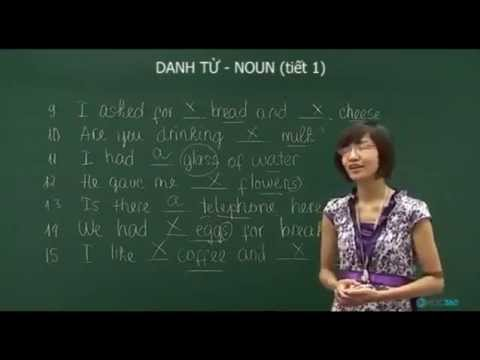Bài 3: Danh từ - Tiết 1
