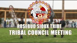 RST Tribal Council Meeting, (11/22/19)