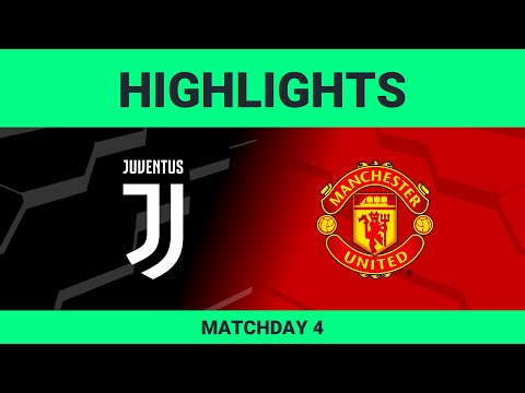 Juventus vs Manchester United FC | Highlights Matchday 4 eFootball.Pro 2019-2020