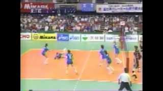 Set2 Daiei Orange Attakers-TOYOBO Orchis Semi Final 48th Kurowashiki All Japan Volleyball Tournament