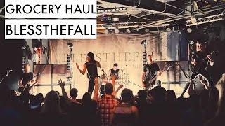 VLOG | Grocery Haul + blessthefall