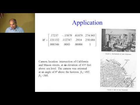 Lecture 12: Camera Model