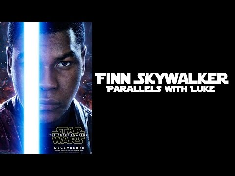 How TFA Finn was paralleled with ANH Luke